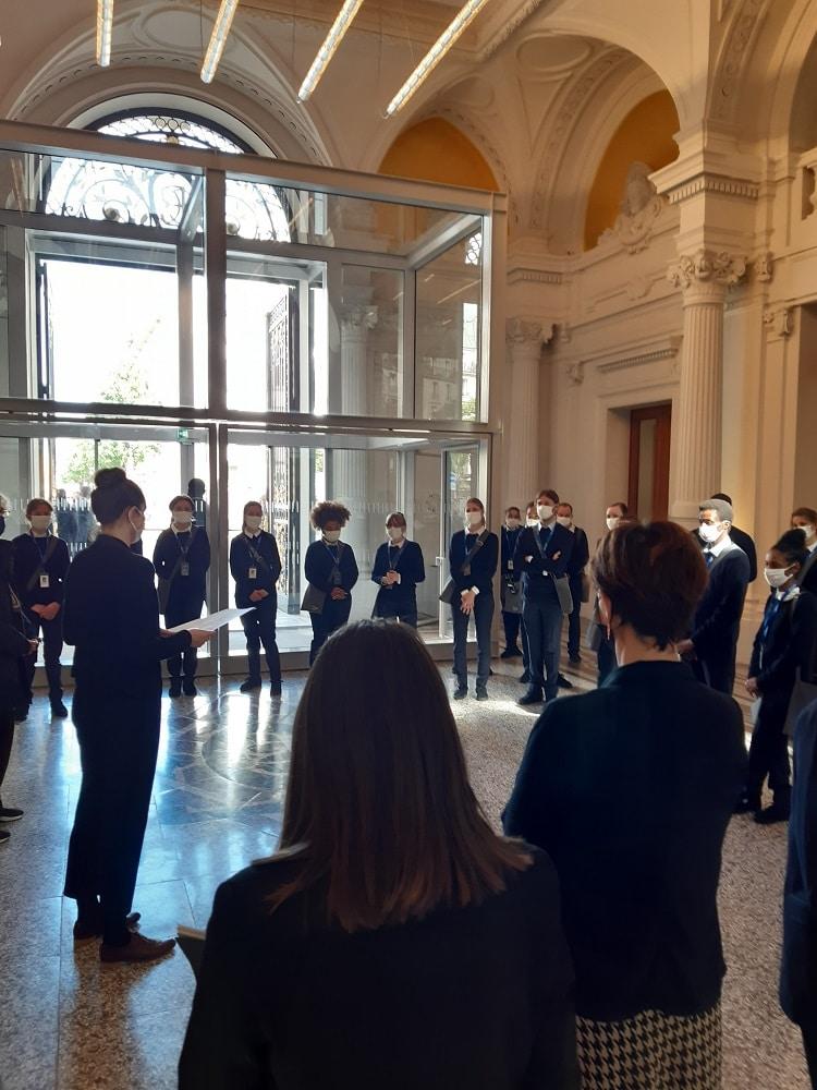 La collection Pinault à la Bourse de Commerce accueil Marianne international